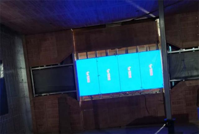 唐山展厅感应滑轨屏幕