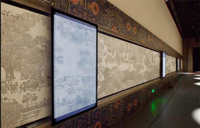 重庆展厅感应滑轨屏幕
