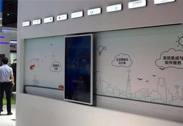 广州展厅互动滑轨显示屏
