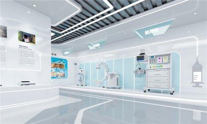 高科技医疗智能展厅设计