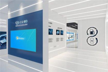汽车电池公司展厅设计图