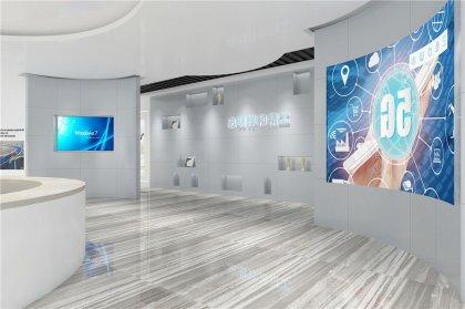 汽车座椅零部件企业展厅设计
