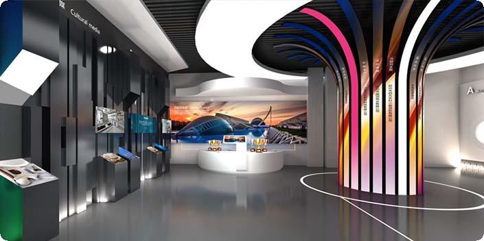连云港文化展厅设计,连云港展厅施工