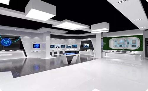 泰兴展厅效果图,天津文化展厅设计