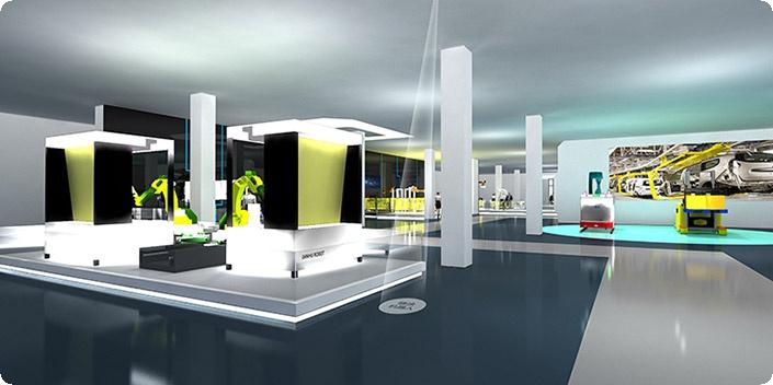 科技企业展厅,科技类展厅