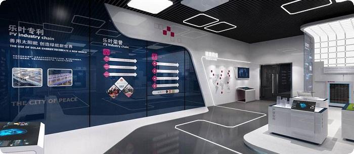 安康展厅装修,安庆城市规划展馆