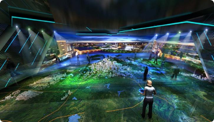 唐山公司展厅设计,唐山数字展厅设计