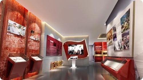 西宁文化展厅设计,西宁展厅装修