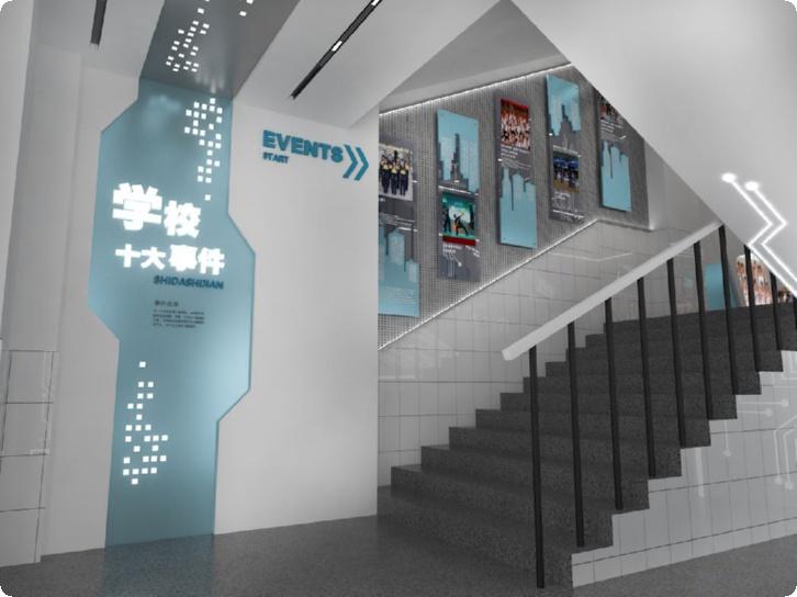 平面设计展厅展台设计,宁德展厅装修