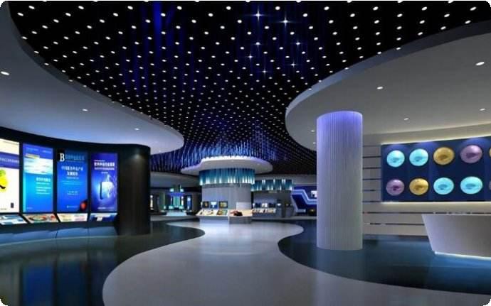 温岭科技展厅设计,温岭企业展厅设计
