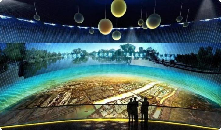 西宁公司展厅设计,西宁展厅装修