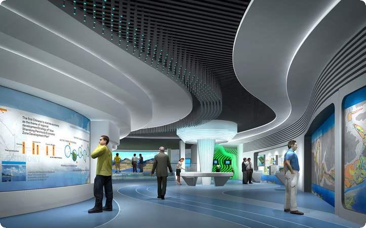 哈尔滨数字展厅设计,数字展厅设计与策划