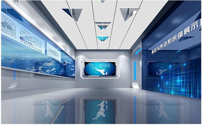 海安科技展厅设计,海安展厅施工