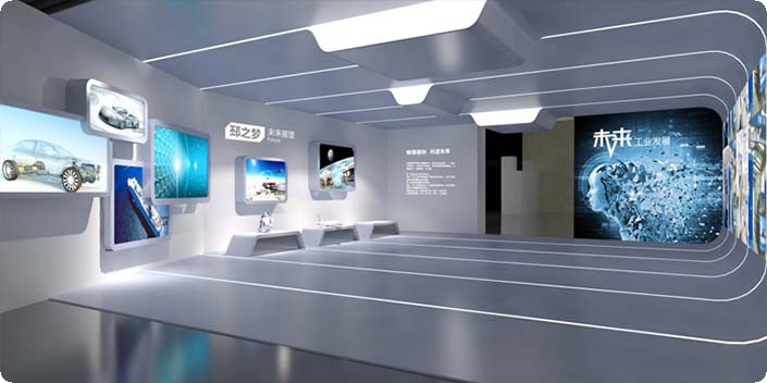 泉州科技展厅设计,泉州展厅施工