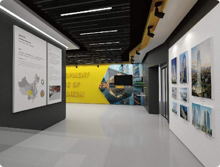 潜山展厅施工,衢州公司展厅设计
